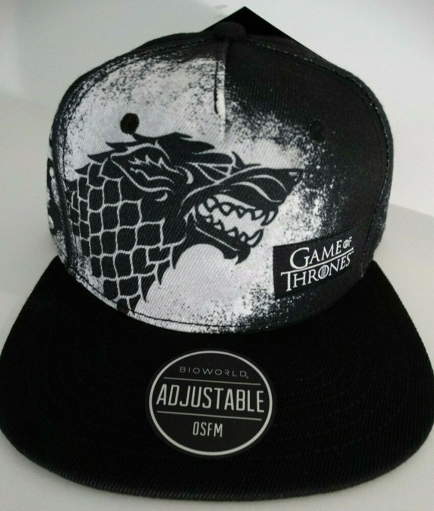 House Stark Baseball Cap Game Of Thrones GOT Winter Is Coming Adjustable Dad Hat