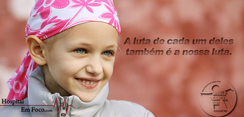 World Cancer Day;    Dia Mundial do Câncer;  Dia Mundial del Cancro.