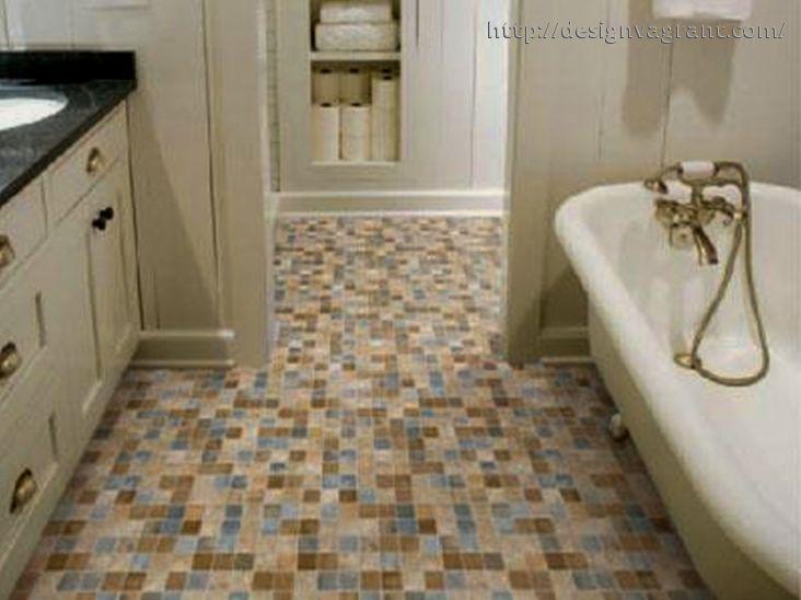 Creative Bathroom Floor Tile Ideas For Small Bathrooms Bathroom Flooring Bathroom Tile Designs Bathroom Floor Tiles