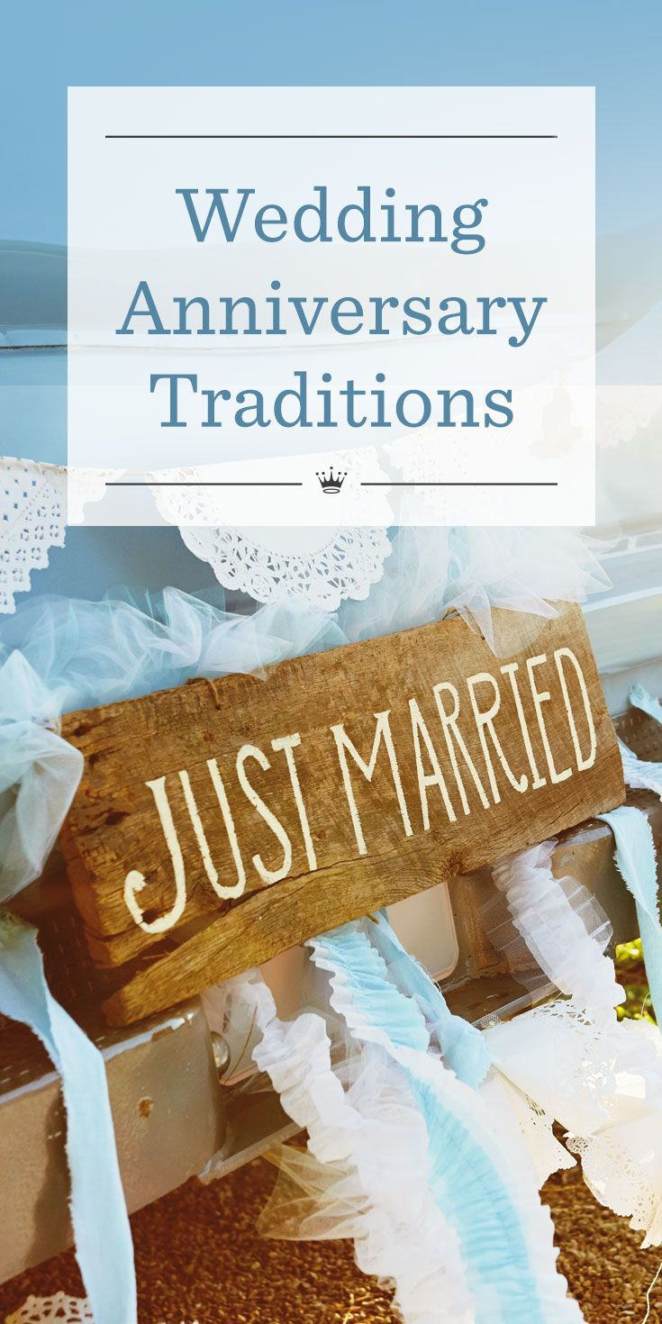 How to celebrate wedding anniversaries according to tradition