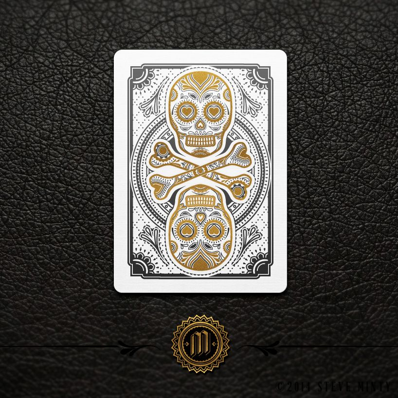 Image of *Pre-order* Muertos - Day of the Dead Playing cards