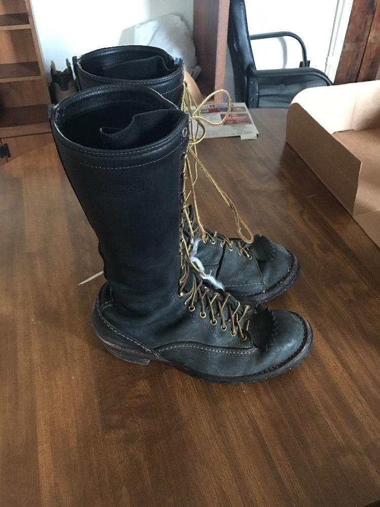 100% top quality entire collection huge sale wesco Logger boots Size 13E   Men's Footwear Civ./Mil ...