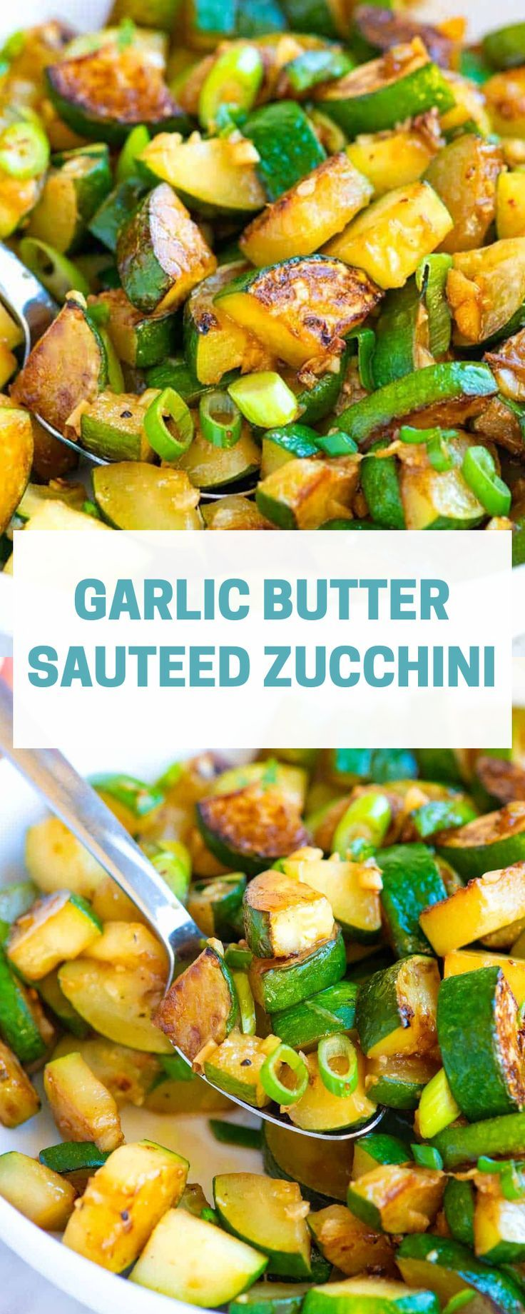 Garlic Butter Sauteed Zucchini images