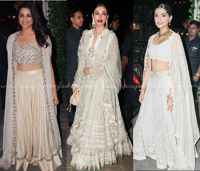 1d79fd7a4a Bollywood Celebrities Diwali Outfits | Celebrity Lehengas | Diwali ...