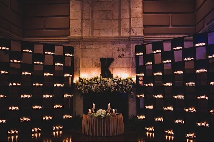 Light up all the candles http://www.eventricsweddings.com/