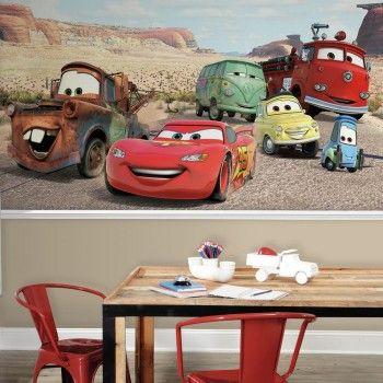 Disney Pixar Cars Desert XL Wallpaper Mural 10.5' X 6'