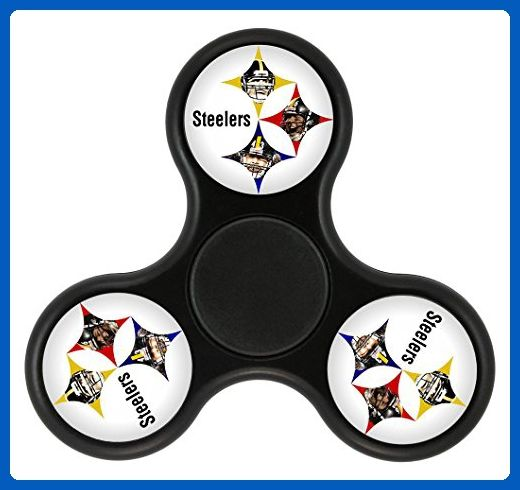 MEI SH Hand Spinner Pittsburgh Steelers Usa Football Logo Tri