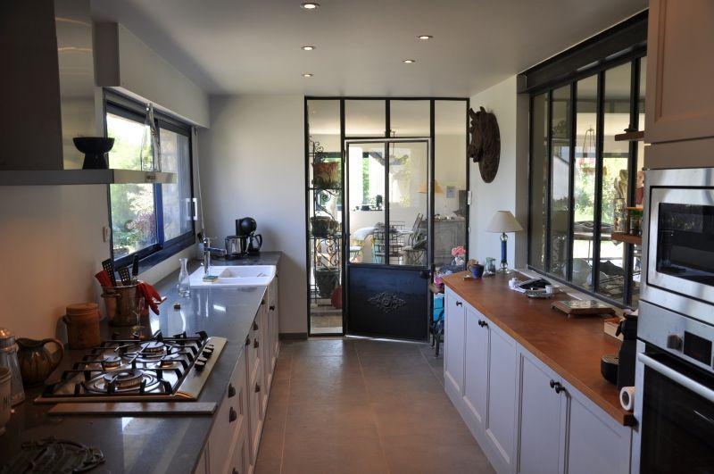 Verriere atelier cuisine separation cuisine pinterest - Vitre separation cuisine ...