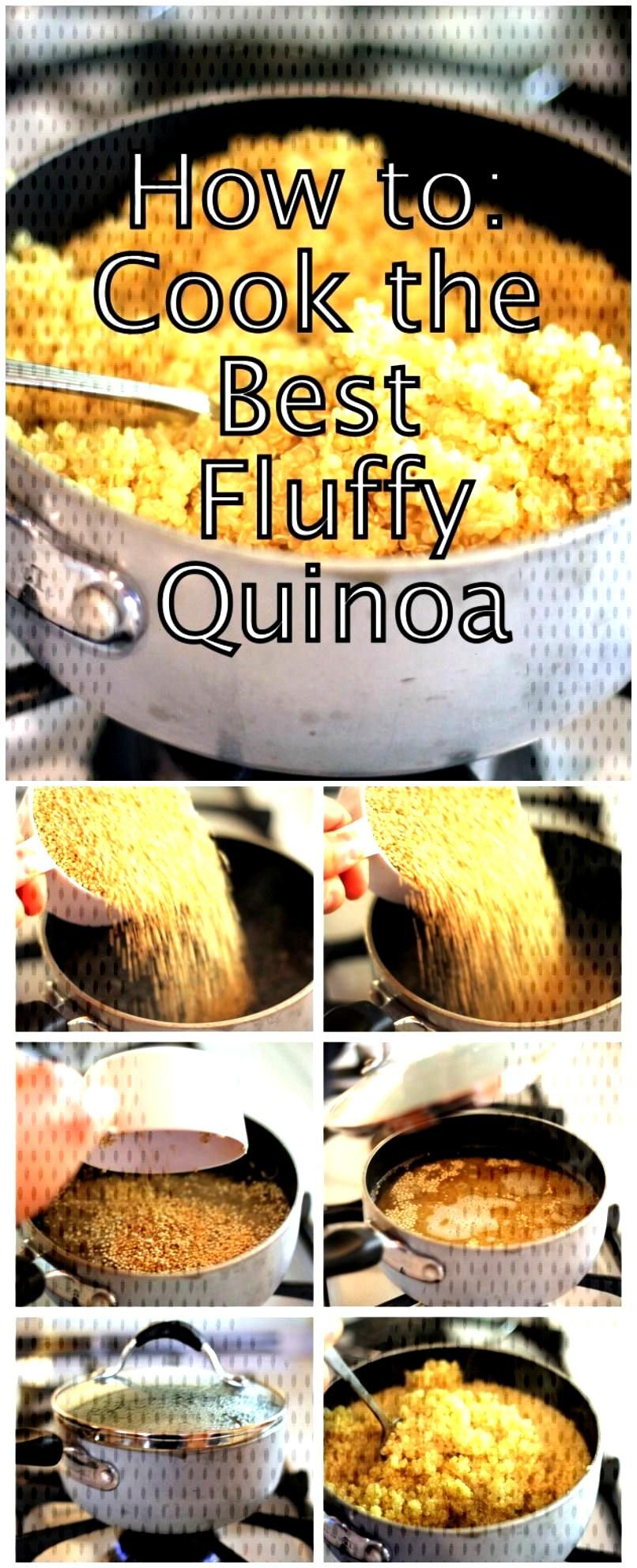 How To Cook The Best Fluffy Quinoa ~ Plus delicious quinoa recipes you must try! , How To Cook The
