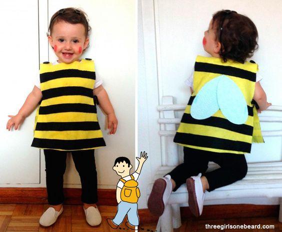 disfraz de abeja fcil para nios pequeos ideas de disfraz casero para nios