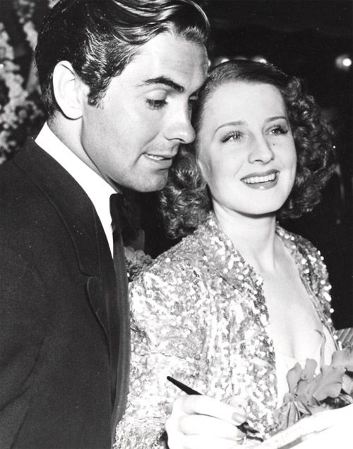 Image result for norma shearer and tyrone power