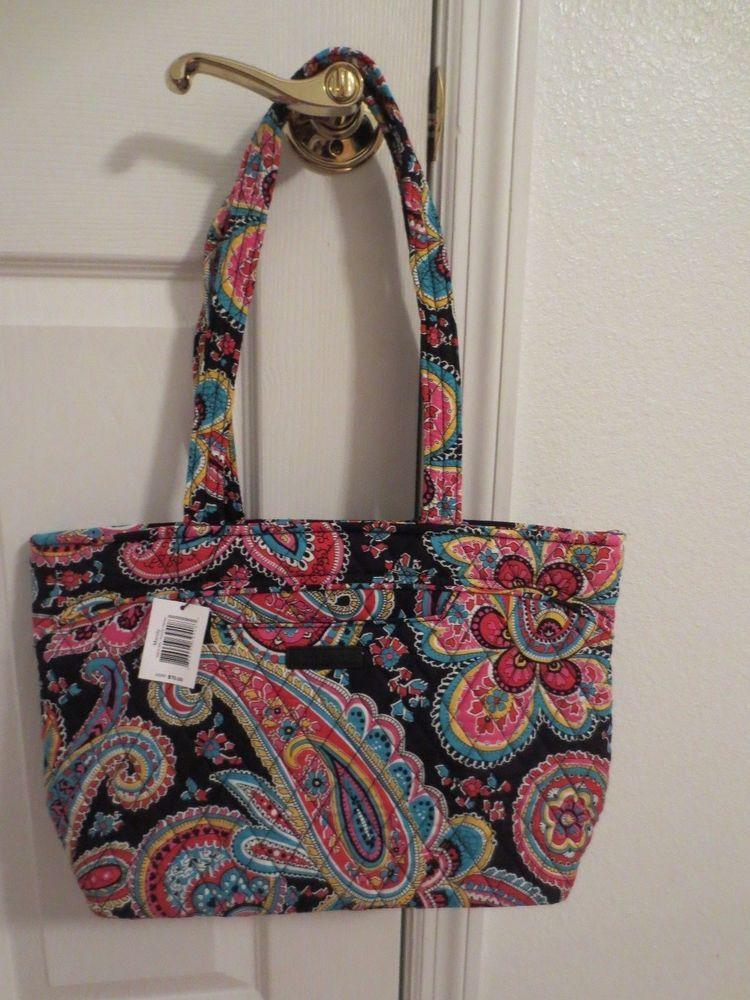 VERA BRADLEY PARISIAN PAISLEY Mandy Handbag Tote Shoulder Bag NWT 5c6b59a4a3fc3