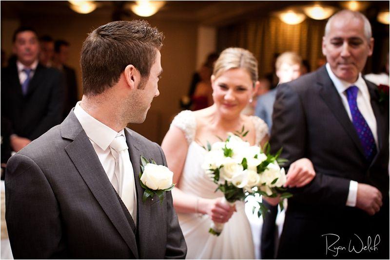 Oxwich Bay Wedding Photography  Beach Wedding Idea's  Welsh Wedding  Aisle, civil ceremony, excited bride  groom