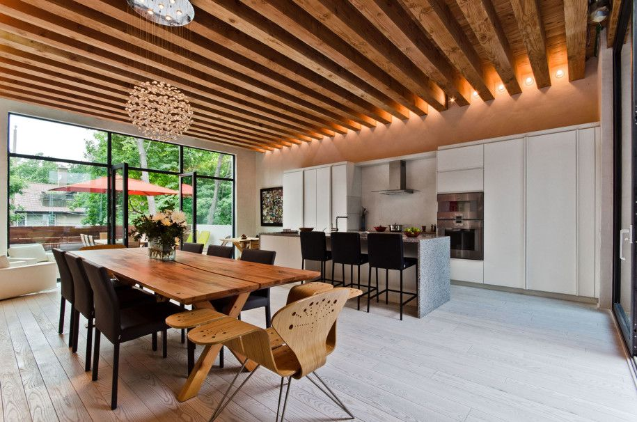 55 Awesome Modern Kitchen Designs Show Up Dining Area Amazing