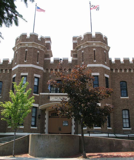 Frederick Armory Maryland Castle Historic Baltimore