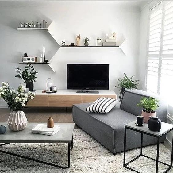 Modern Minimalist Tv Desk Design Living Room Scandinavian Scandinavian Design Living Room Nordic Living Room