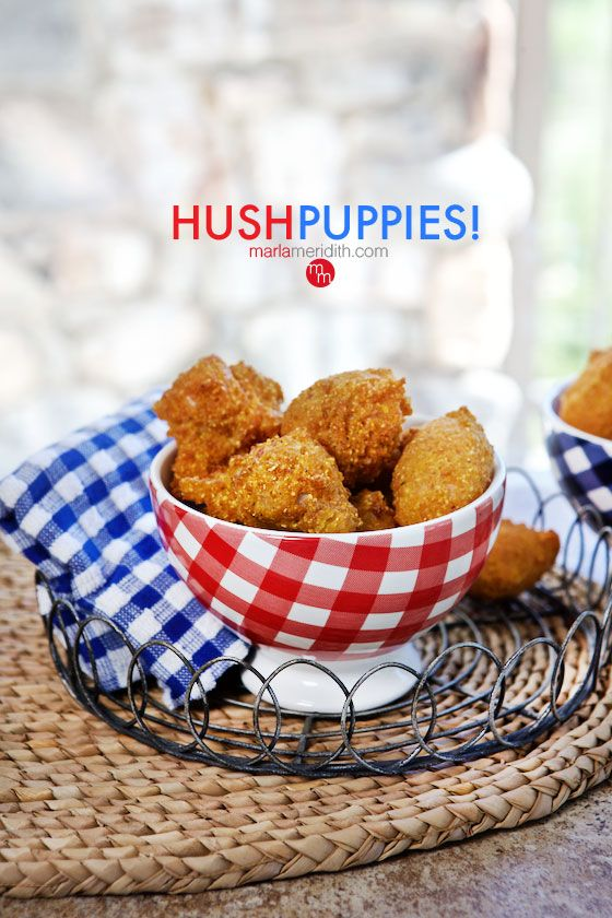 Classic Southern Hush Puppies! Fry these up today