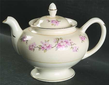 HOMER LAUGHLIN CO Apple Blossom (With images) Tea pots
