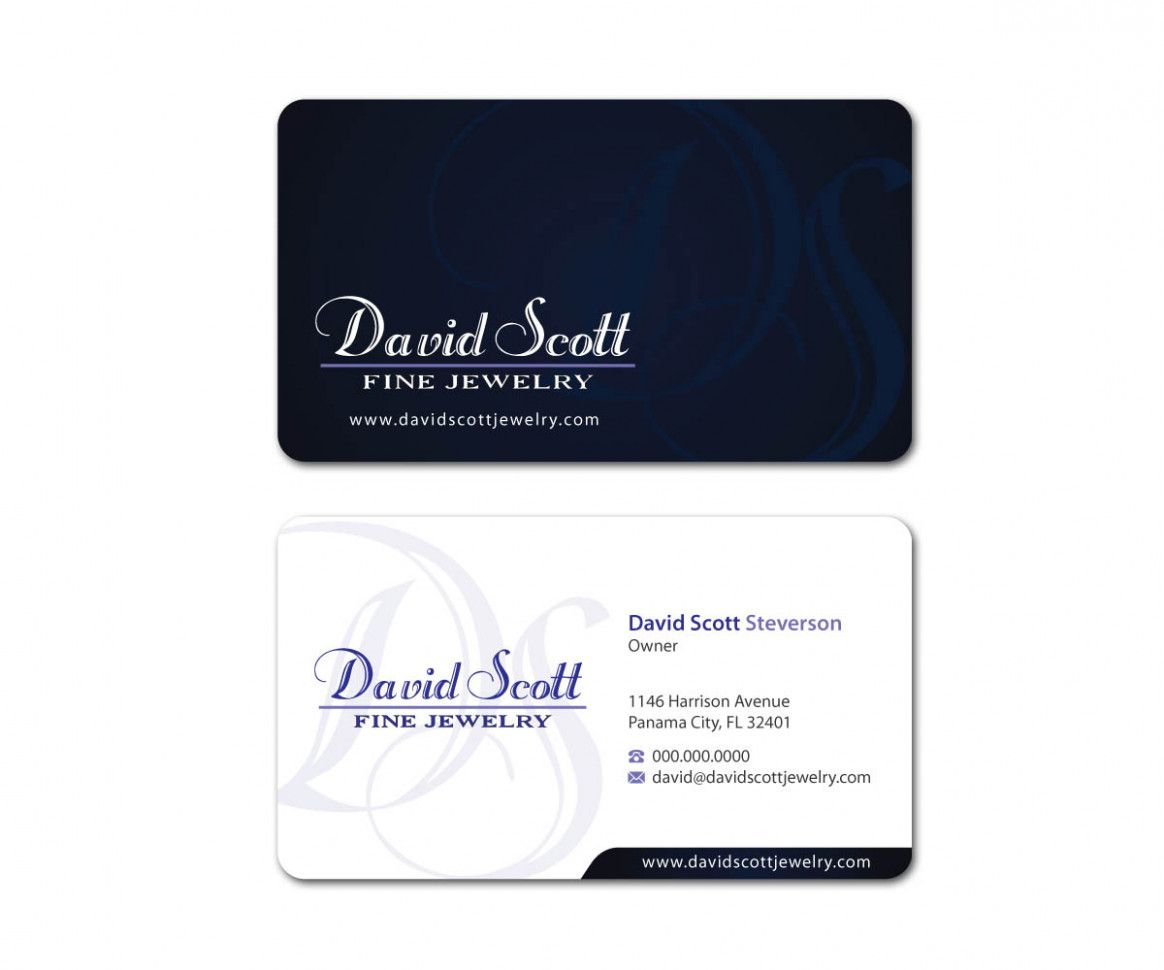 Jewelry Professional Business Card Jewelry Professional Business