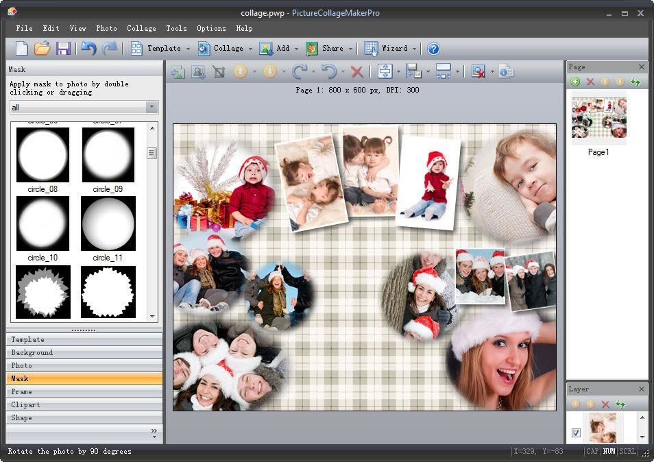 Picture Collage Maker For Mac Win Photo Collage Software 12