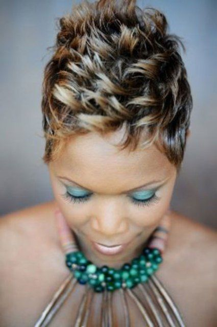 50 Most Beautiful African American Short Hairstyles Black women are well known for having