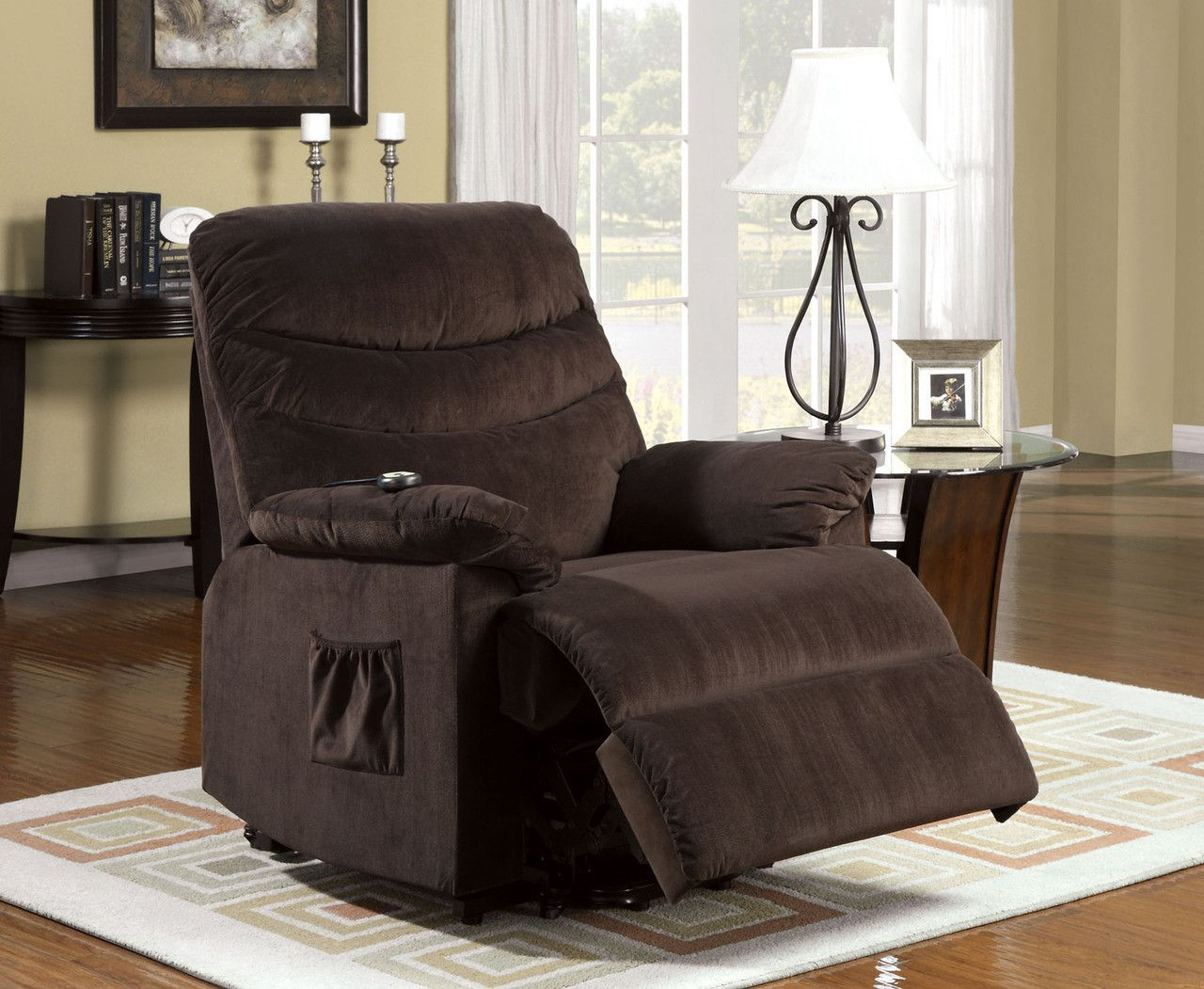 Furniture Of America Perth Recliner With Recliner With Stand Assist Power Lift System CM-RC6933 & Perth Recliner With Recliner With Stand Assist Power Lift System ... islam-shia.org