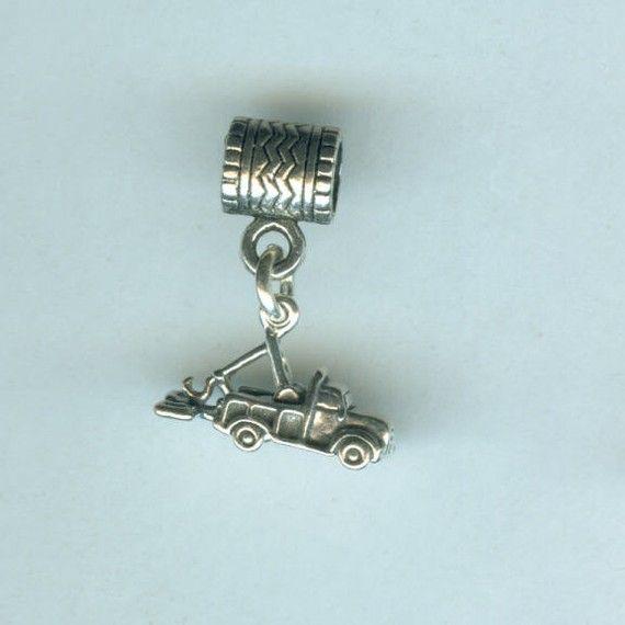 Best Designer Jewelry Sterling Silver Fire Truck Charm