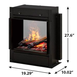 Astounding Dimplex Opti Myst Pro 400 Built In Electric Fireplace Home Interior And Landscaping Palasignezvosmurscom
