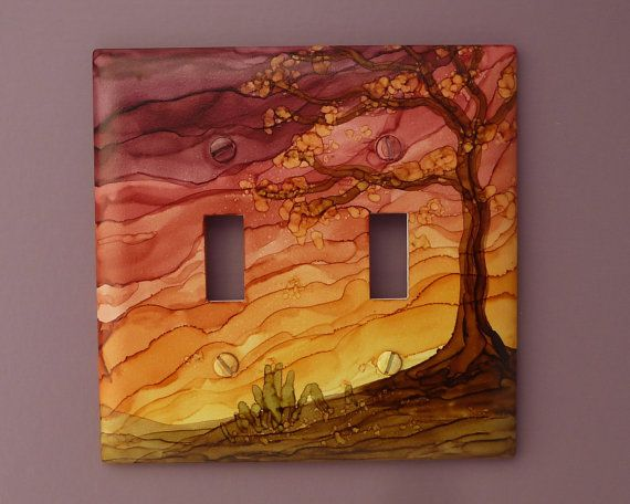 Painting Light Switch Covers