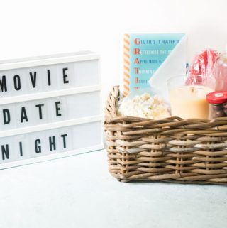 Movie Date Night Gift Basket