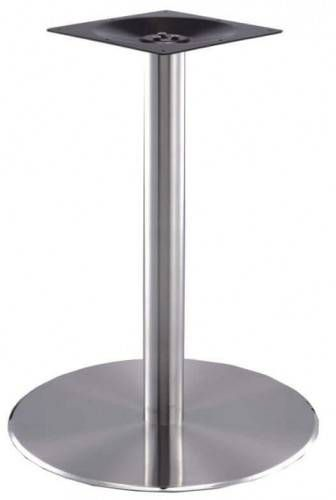 Indoor / Outdoor Round Stainless Steel Table Base