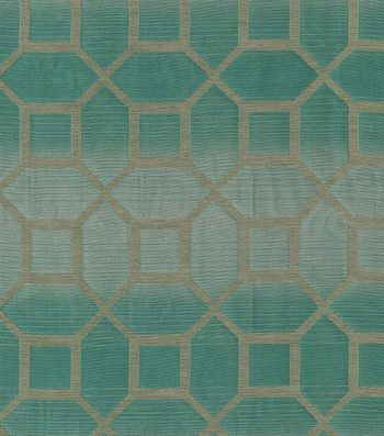 Home Decor Print Fabric Elite Andrade Teal