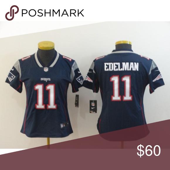 Women New England Patriots Julian Edelman Jersey New. All size ...