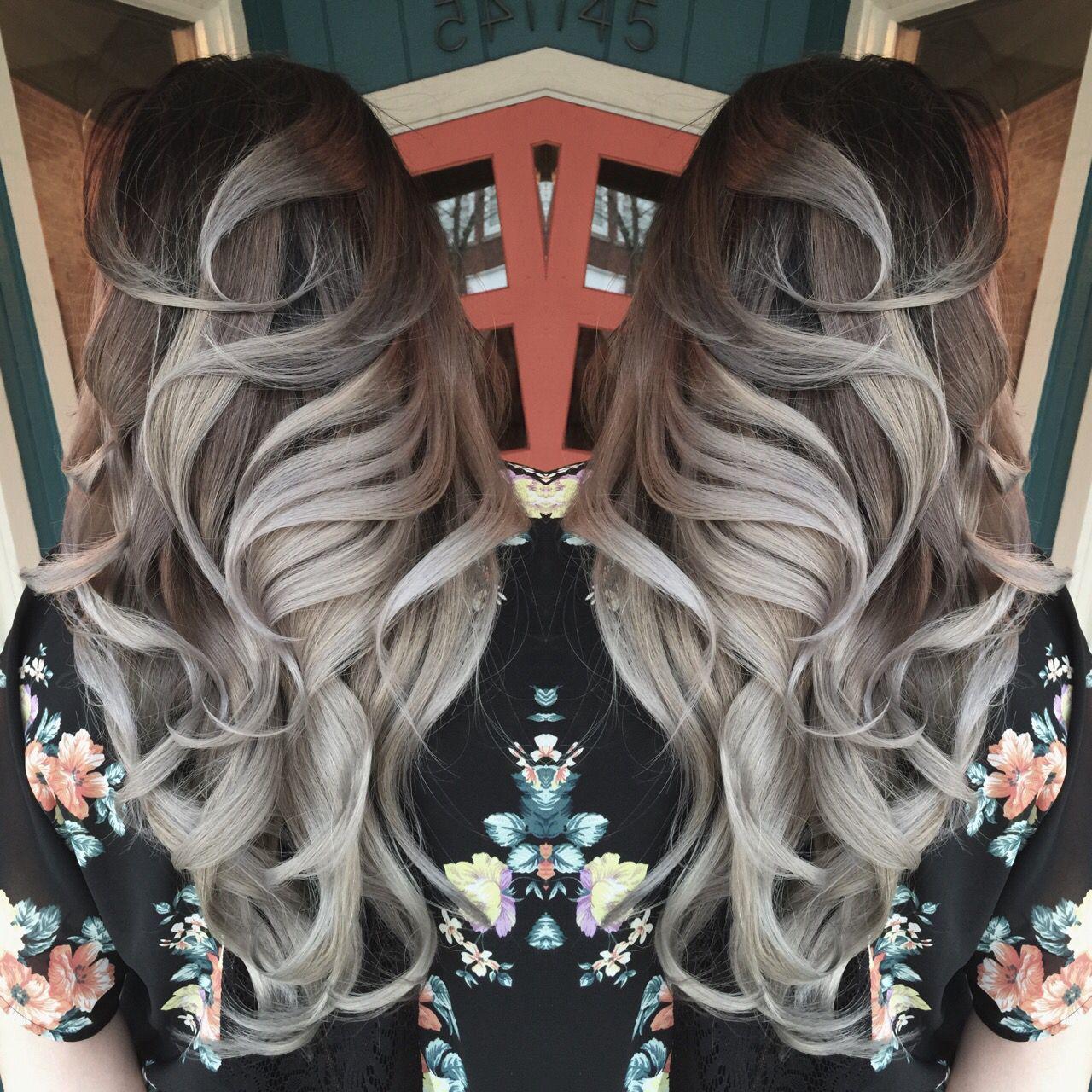 Grey hair, granny hair...