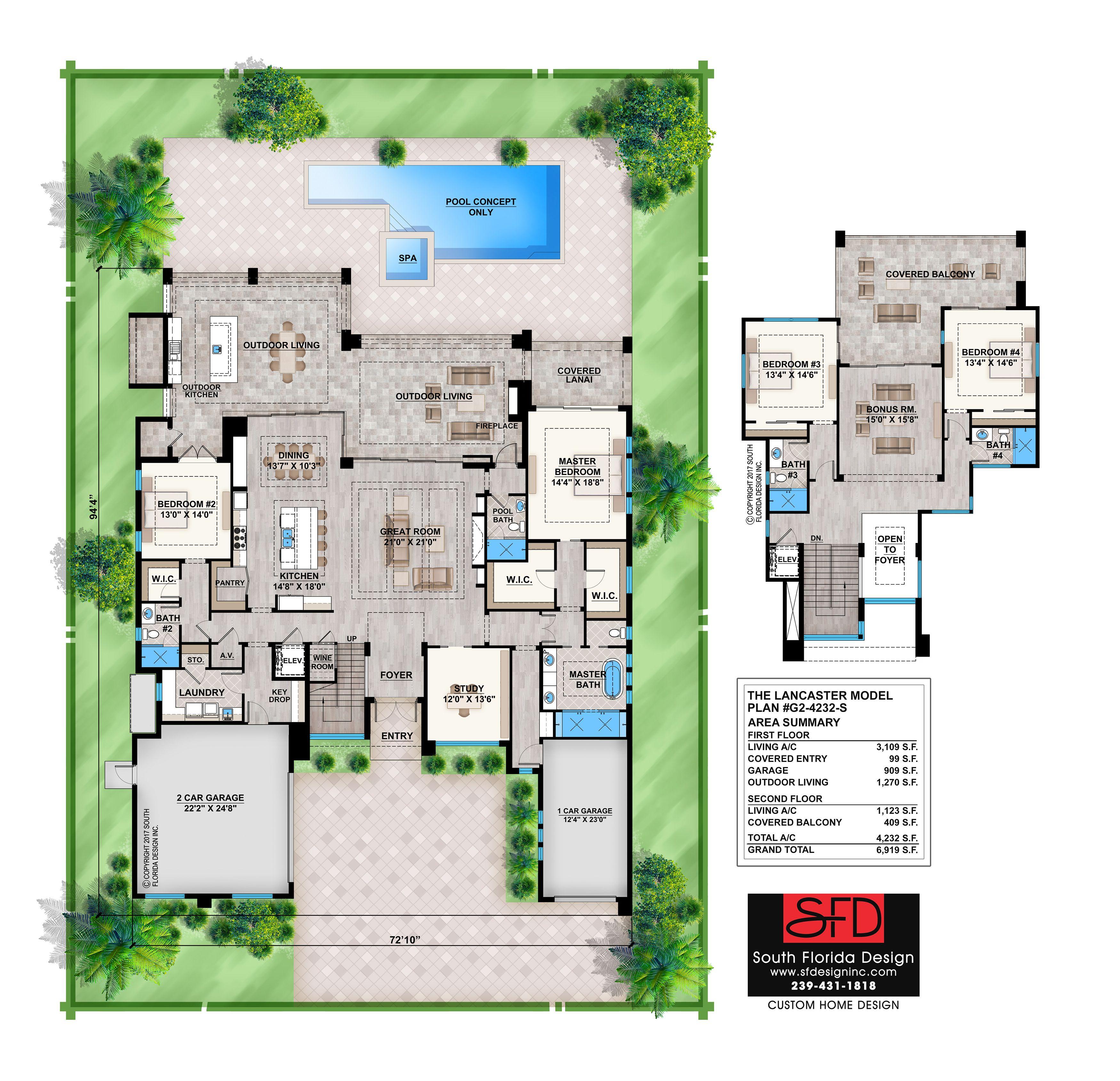 South Florida Designs – Lancaster G2 4232 S