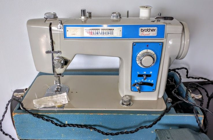 Vintage Brother Sewing Machine Project 40 Sewing Machines Mesmerizing Vintage Brother Sewing Machine Manual