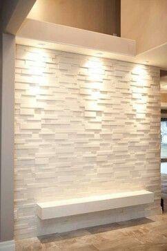 Beutiful Elegant White Wall 3d Decoration Stylish Wall Covering