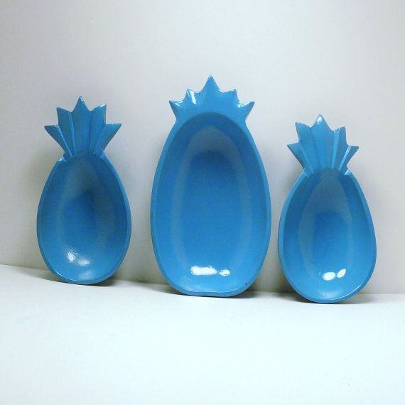 Plastic Decorative Bowls Prepossessing Love These Pineapple Bowls  Eclectic Home  Pinterest Decorating Inspiration