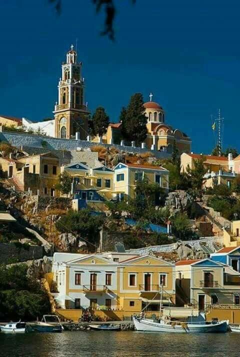 Symi island Greek Islands Pinterest Greek islands