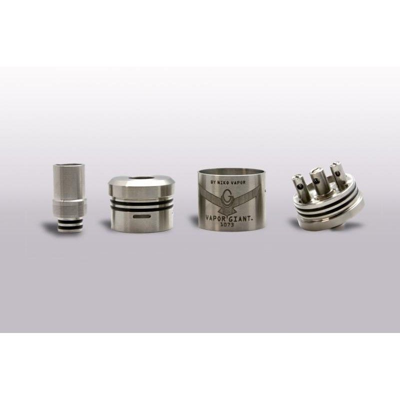 implicar Agnes Gray Libro  The Vapor Giant is a stainless steel dripper by Niko Vapor. This 32.5mm RDA  will