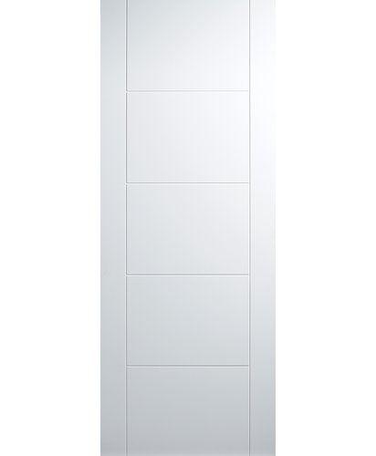 Vancouver Solid MDF Panelled Slab Internal Door LPD Doors ...