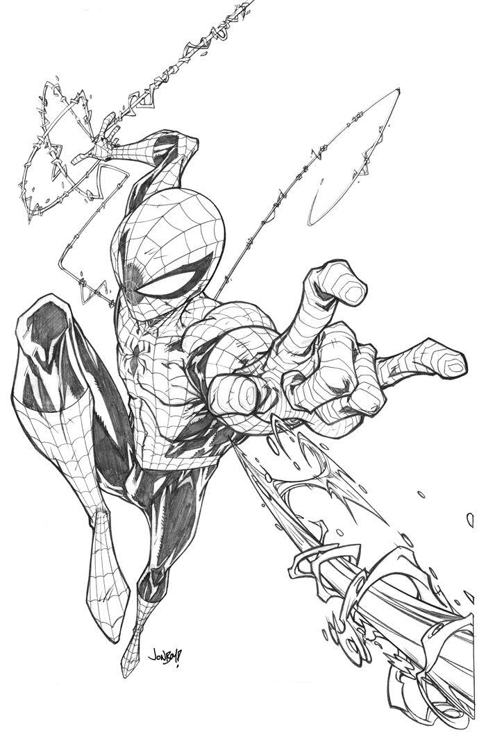 Spiderman By Jonboy007007 On Deviantart Spiderman Art Sketch Spiderman Drawing Character Drawing