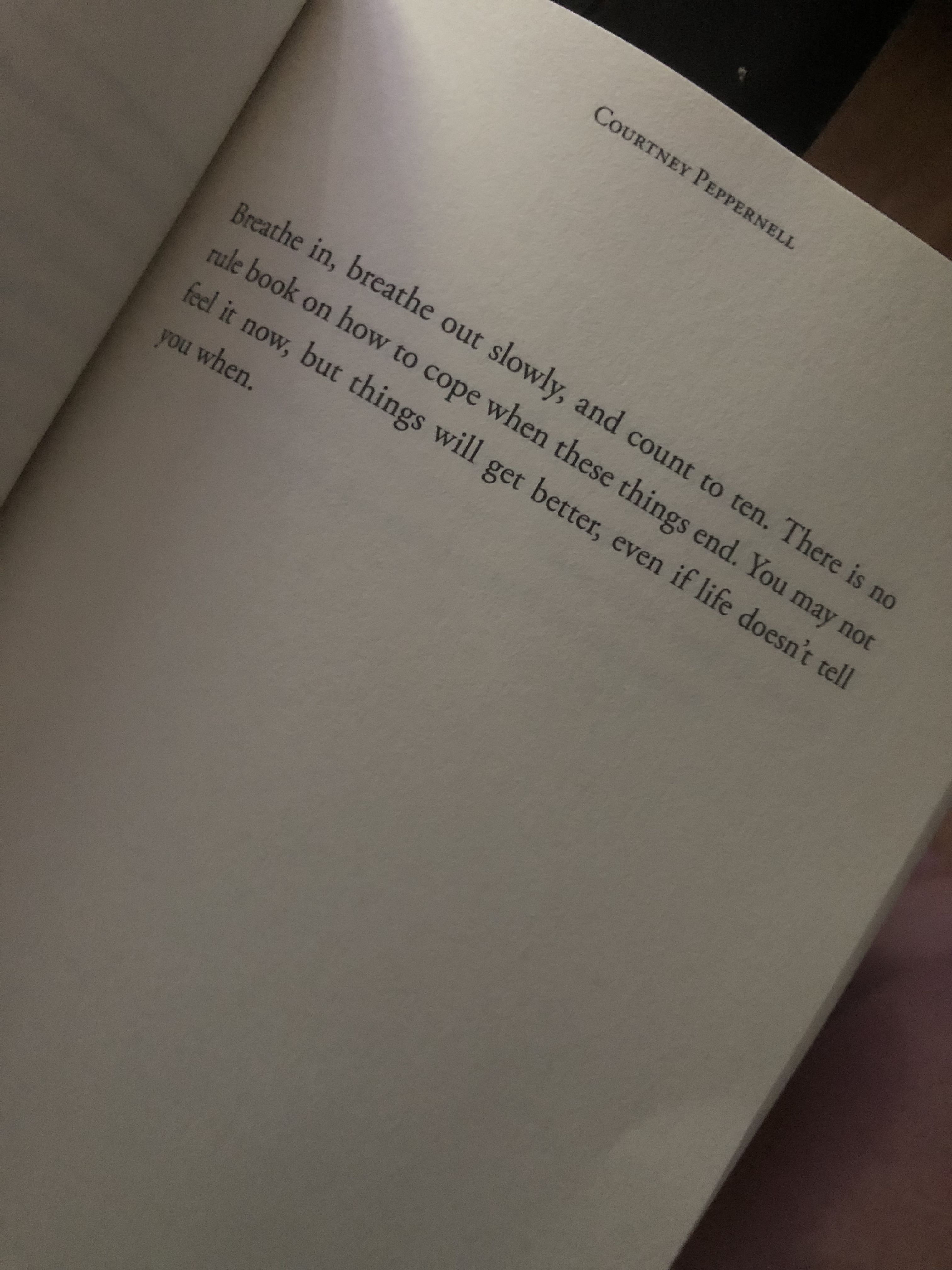 Courtney Peppernell Pillow Thoughts If You Are Heart Broken Pillow Thoughts Thoughts Quotes Feelings Quotes
