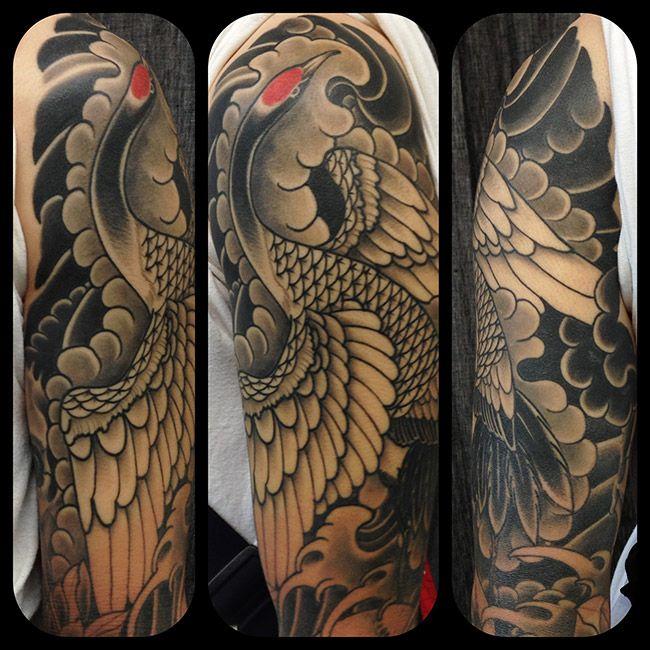 Crane Tattoo Google Zoeken Crane Tattoo Japanese Tattoo
