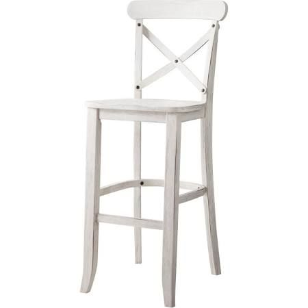 White Wood Barstool Google Search French Country Bar Stools