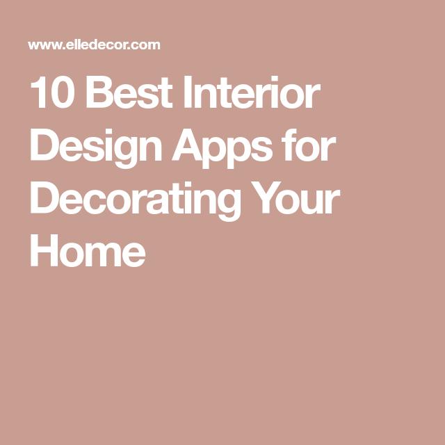 These Interior Design Apps Will Revolutionize Your Next Redo