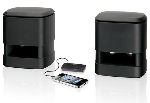 Indooroutdoor Wireless Speakers At Sharper Image For Me