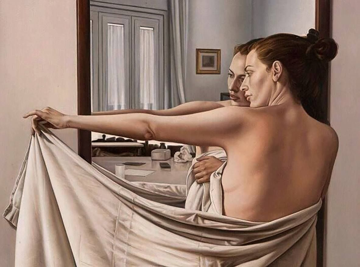 "Autor...  .Luca Morelli Técnica...  Óleo sobre lino Titulo... ""Apariencia"""