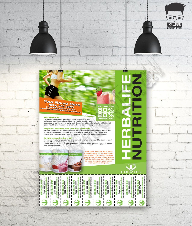 herbalife flyer template