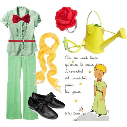 A Petit Prince inspired outfit? Hell yeah!